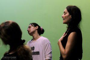 Masterclass Σωματικού Θεάτρου Με την Αλεξάνδρα Καζάζου