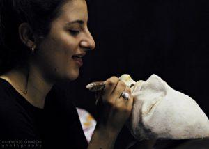 Εργαστήρι κατασκευής μάσκας με τη Μάρθα Φωκά 5