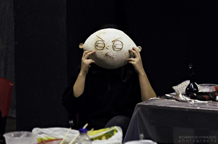 Εργαστήρι κατασκευής μάσκας με τη Μάρθα Φωκά