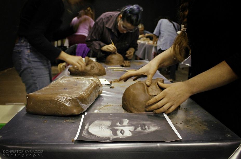 Εργαστήρι κατασκευής μάσκας με τη Μάρθα Φωκά 3