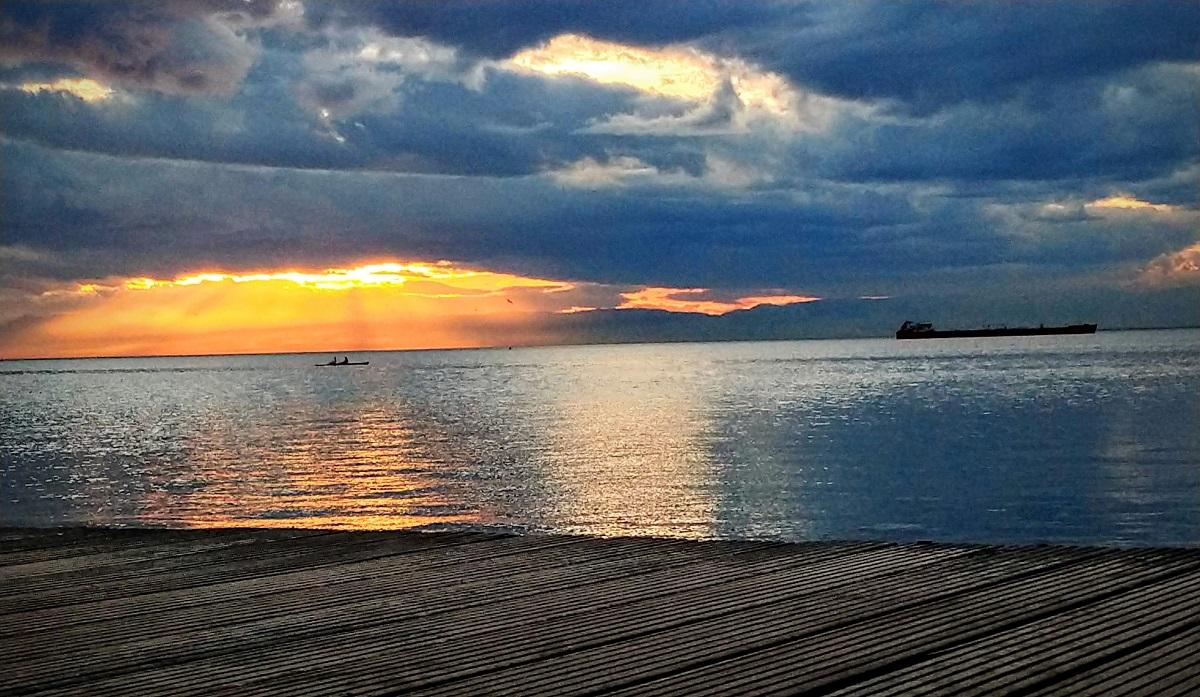 Παραλία Θεσσαλονίκης - Φωτό: Μαρία Καραδελόγλου